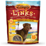 American Distribution & Mfg 41551 Dog Treats, Lil'Links Chicken & Apple, 6-oz.