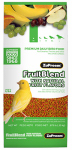 American Distribution & Mfg 80000 Pet Bird Food, Fruit Blend Avian Diet, Extra Small, .875-Lb.