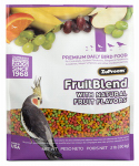 American Distribution & Mfg 82020 Pet Bird Food, Fruit Blend Avian Diet, Medium, 2-Lb.