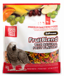 American Distribution & Mfg 83030 Pet Bird Food, Fruit Blend Avian Diet, Medium, 3.5-Lb.