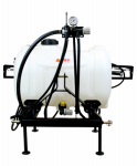 Smv Industries 60PW0P3HLB2G5N Tow-Behind Sprayer, Category 1 Hitch, 3-Point, 60-Gal.