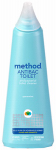 Method Products Pbc 01221 Naturally-Derived Antibacterial Toilet Bowl Cleaner, Spearmint, 28-oz.