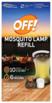 S C Johnson Wax 76086 Mosquito Lamp Repellent Refill, 2-Ct.