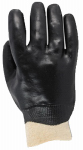 Magid Glove & Safety Mfg 1670T Heavy Duty PVC Coated Glove with Smooth Finish & Deluxe Liner, Black, Large