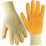Magid Glove & Safety Mfg 306TM Work Gloves, Latex Coated Palm, Blue, M