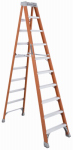 Louisville Ladder FS1510 10-Ft. Step Ladder, Fiberglass, Type IA, 300-Lb. Duty Rating