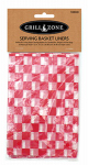 Blue Rhino Global Sourcing 00379TV Barbecue Basket Paper Liners, 12 x 12-In., 24-Pk.