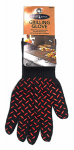 Blue Rhino Global Sourcing 00339TV Barbecue Glove, Heat-Resistant, Black & Red