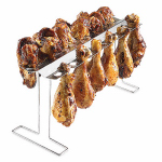 Blue Rhino Global Sourcing 00344TV Chicken Legs & Wings Rack, Stainless Steel