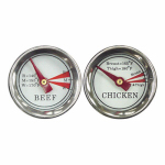 Blue Rhino Global Sourcing 00377TV Meat Grilling Thermometer Set
