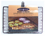 Blue Rhino Global Sourcing 00390TV Barbecue Grill Basket, Non-Stick, Flexible