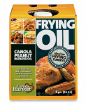 Richardson Oilseed 0011110270 Frying Oil, Canola Peanut Blend, 3-Gals.