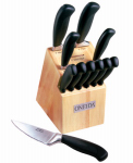 Robinson Home Products 55085 Soft Touch Knife Block Set, 12-Pc.