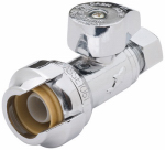 Sharkbite/Cash Acme 23337-0000LF 1/2x1/4 STR Stop Valve