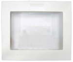 Ips W2012BTP Washing Machine Outlet Box, Dual-Drain