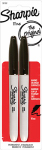 Sanford 30162PP Fine-Point Permanent Markers, Black, 2-Ct.