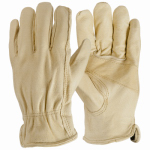 Magid Glove & Safety Mfg B741ETL Pigskin Leather Driver Gloves, L