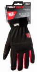 Big Time Products 9084-23 High-Performance Work Gloves, Black & Red, XL