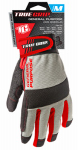 Big Time Products 9812-23 High-Performance Work Gloves, Touchscreen Compatible, Microfiber Suede, Medium