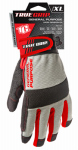 Big Time Products 9814-23 High-Performance Work Gloves, Touchscreen Compatible, Microfiber Suede, XL