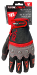 Big Time Products 9893-23 High-Performance Work Gloves, Touchscreen Compatible, Red, Gray & Black, Large