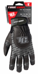 Big Time Products 9897-23 Extreme Work Gloves, Touchscreen Compatible, Black & Gray, Large