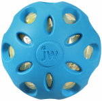 Petmate 47015 Dog Toy, Crackle Head Ball, Large