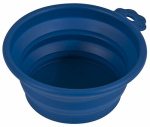 Petmate 23367 1.5C BLU Trav Pet Bowl