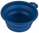 Petmate 23369 3C BLU Trav Pet Bowl