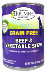 Sunshine Mills 00871 Dog Food, Canned, Grain-Free, Beef & Vegetable Stew, 13.2-oz.