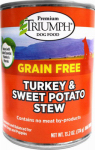 Sunshine Mills 00872 Dog Food, Canned, Grain-Free, Turkey & Sweet Potato, 13.2-oz.