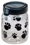 Snapware 1098566 Pet Treat Container, Paw Design, 4.2-Cups