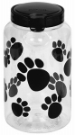 Snapware 1098568 Pet Treat Container, Paw Design, 17.2-Cups