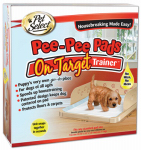 Jodi International/Fourpaws 100203958 Pee-Pee Pads On Target Housebreaking Trainer