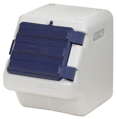 11735 Stack-N-Store Pet Food Container, Holds 25 to 30-Lbs. - Quantity 1
