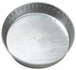 Bergan 11897 Pet Dish, Galvanized, 3-Qts.