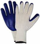 Magid Glove & Safety Mfg 336TL3 Latex Coated Gloves, Knit Palm, 3-Pk.