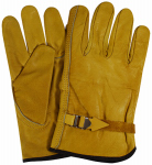 Magid Glove & Safety Mfg B540TL Driver Gloves, Cowhide Leather, Large
