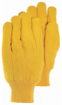 Magid Glove & Safety Mfg 565KWT Fleece Chore Glove, Gold, Men's large