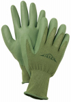 Magid Glove & Safety Mfg ROC50TS Nitrile-Coated Palm Glove, Green, Small