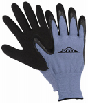 Magid Glove & Safety Mfg ROC55TL LG BLU Latex Coat Glove