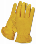 Magid Glove & Safety Mfg TB1640ETS Men's Deerskin Glove, Small