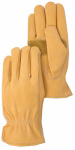 Magid Glove & Safety Mfg TB551ETS Leather Driver Glove, Gold, Small