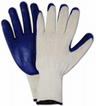 Magid Glove & Safety Mfg 336TL12 Latex-Palm Coated Glove, Large, 12-Pk.