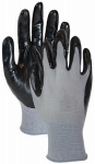 Magid Glove & Safety Mfg T319TS SM BLK/GRY Grip Glove