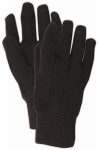 Magid Glove & Safety Mfg T905T12 Jersey Gloves, Brown, Size L, 12-Pk.