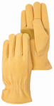 Magid Glove & Safety Mfg TB551ETXXL Leather Driver Glove, Gold, XXL