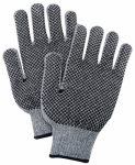 Magid Glove & Safety Mfg G823PRT3 LG GRY Knit Util Glove