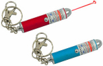 Shawshank Ledz 900234 LED Flashlight Keychain With Laser