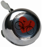 Huffy Bicycles 00248BL Bicycle Bell, Heart Design